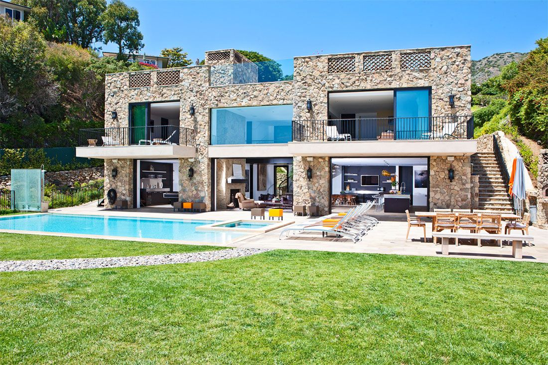Multi million dolar italian style house on malibu beach httpwww