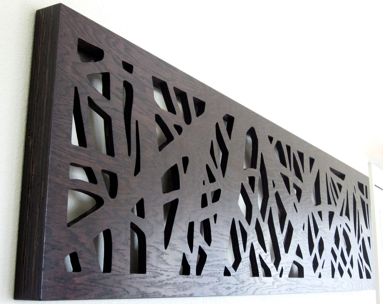 Modern Rustic Wall Art Display Vertical Or Horizontal 6 Plus Wide Tall King Size Headboard 550 00 Via Etsy