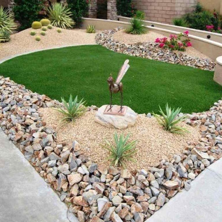 10 Ideas Para Decorar Patios Con Piedras Naturales Patio Con Piedras Jardines Piedras Naturales