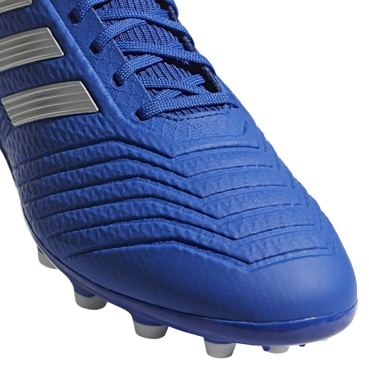 Buty piłkarskie adidas Predator 19.3 Ag M BC0297 niebieski