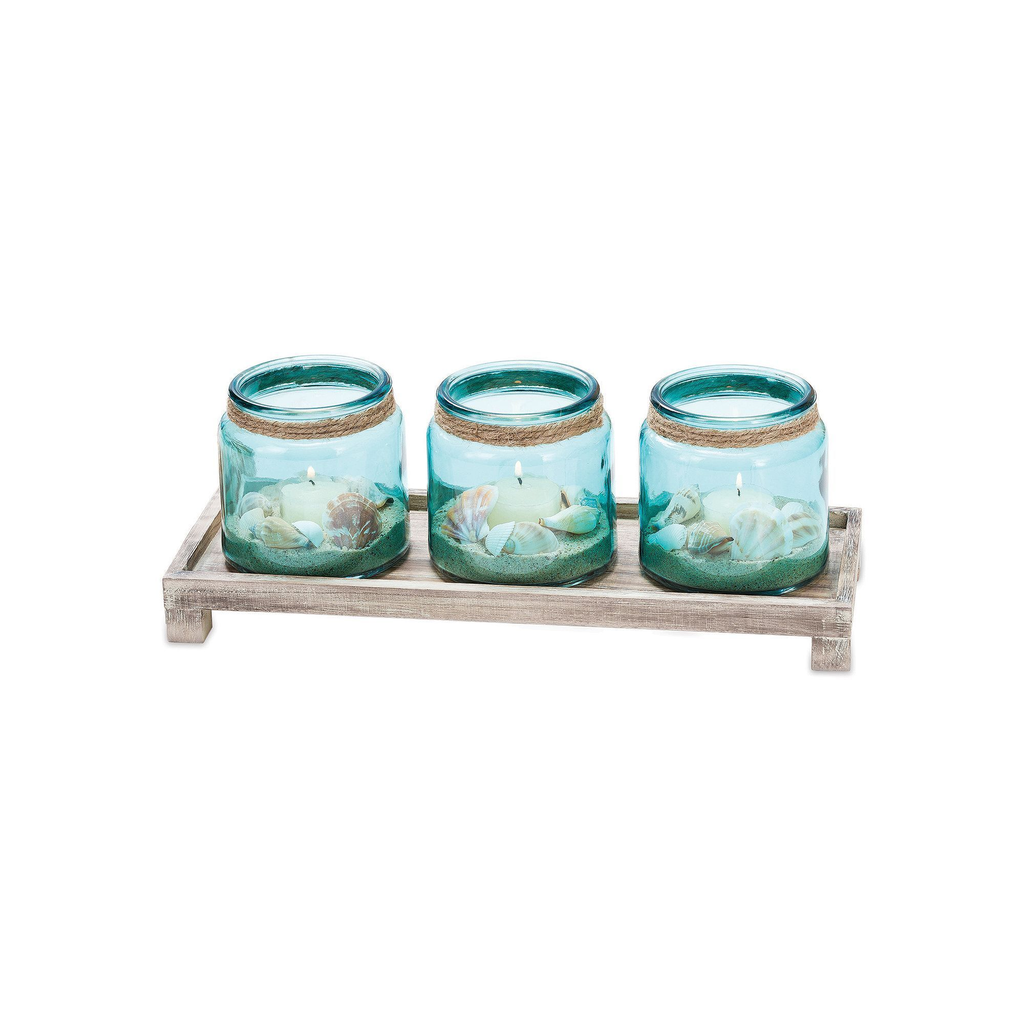 San miguel waverly candle tray decor multicolor products