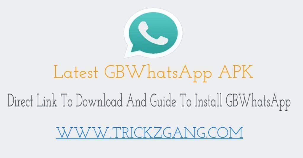 Gbwhatsapp Apk Download Install Latest Version 8 10 Anti Ban 2019 Android Tutorials Download Version