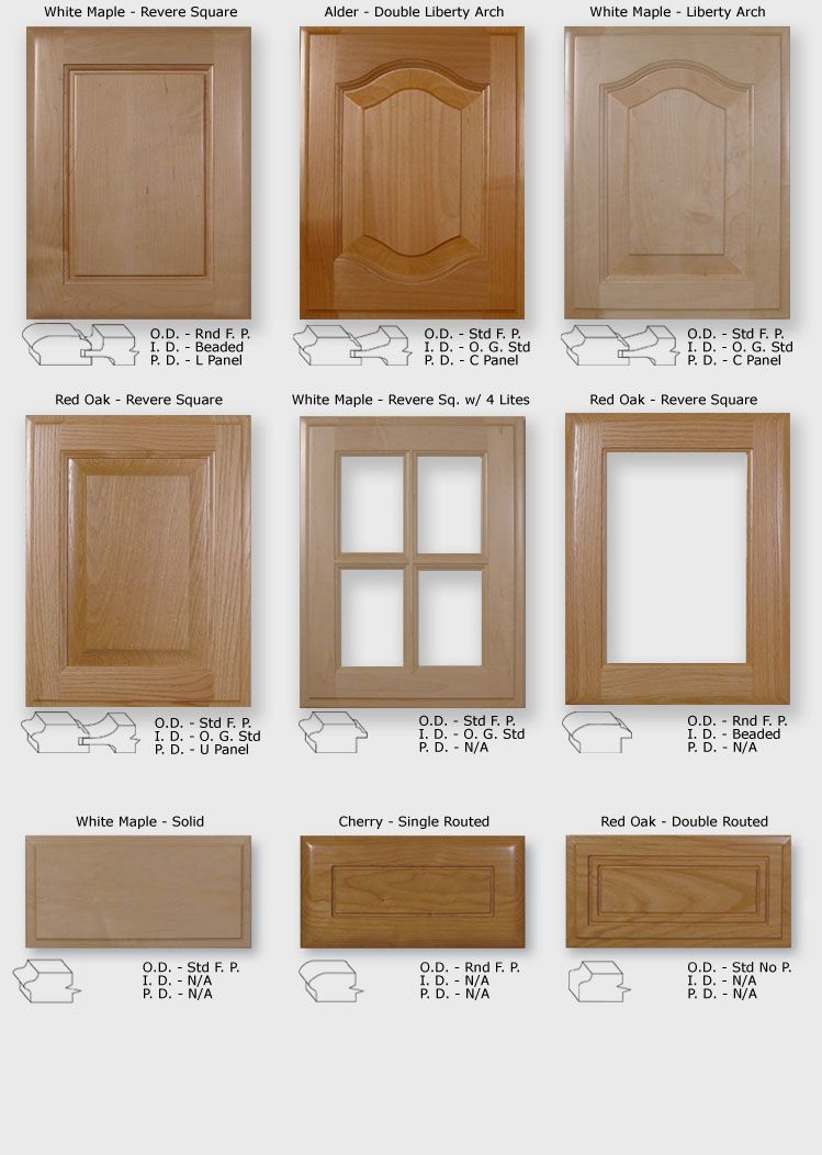 Replacement New Cabinet Doors With