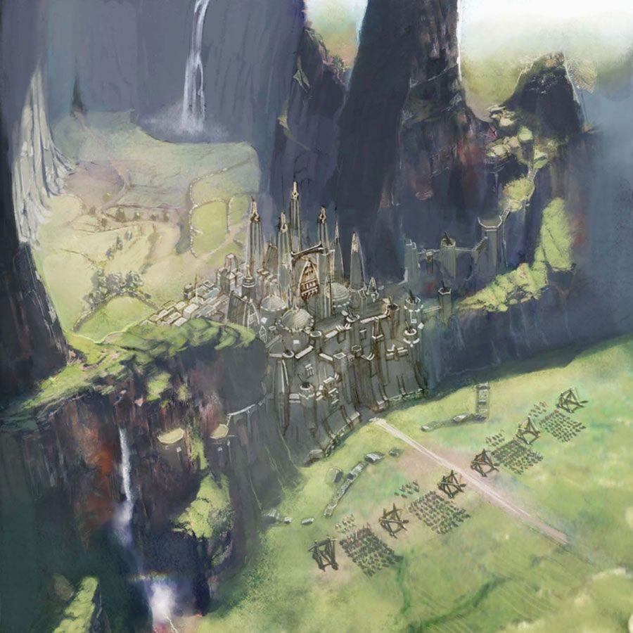 Final Fantasy XIV - A Realm Reborn - World Setting | Landscape ...