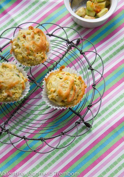 Muffins de milho on http://trembom.com