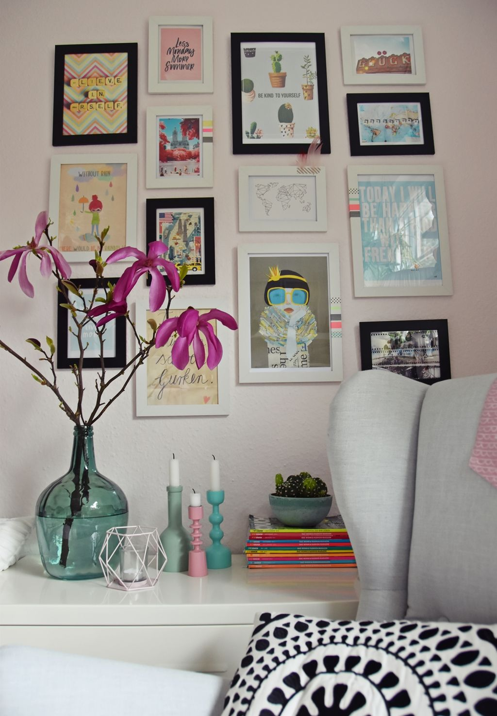 teenager mädchen zimmer - teen room makeover | Teen room makeover ...