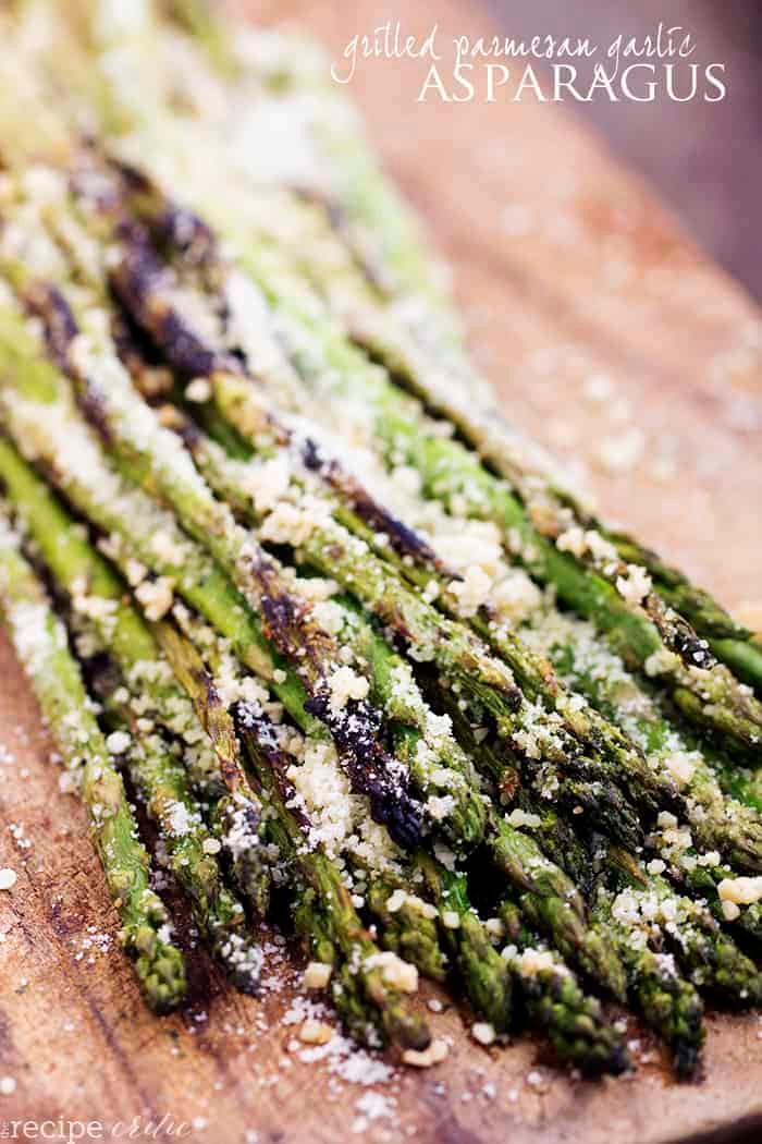 Grilled Asparagus Recipe (w/ Parmesan & Garlic) | The Recipe Critic