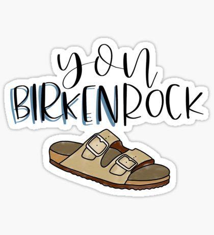 6a399beca8d Birkenstock Stickers in 2019