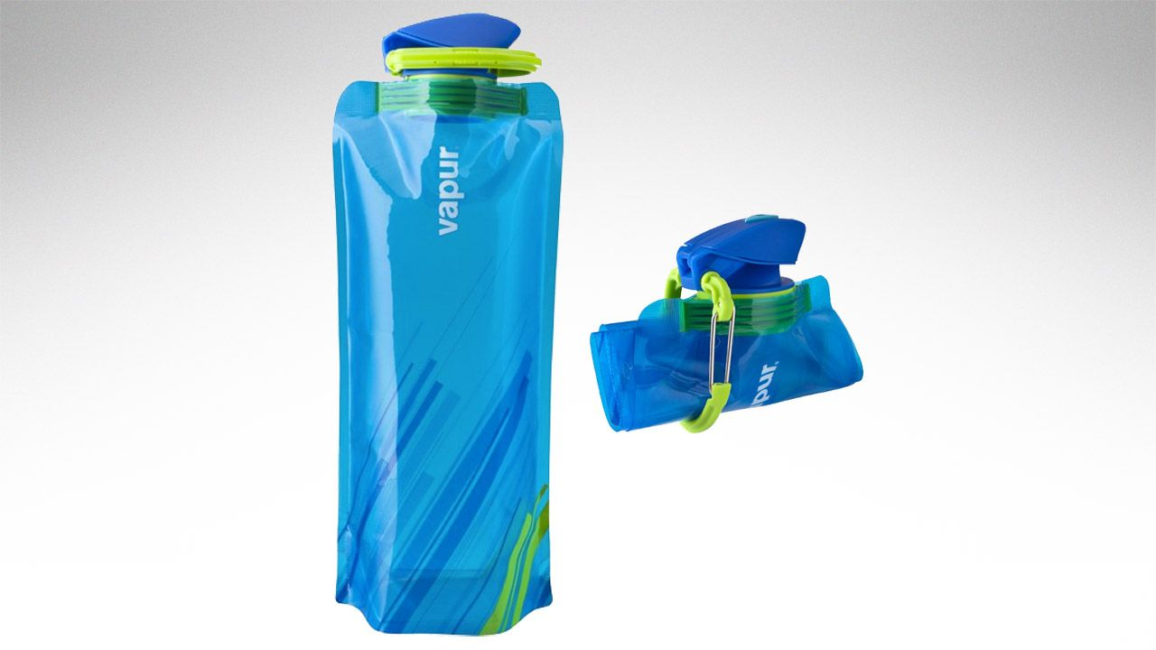 Vapur Anti Element Rollable Water Bottle With Wide Mouth