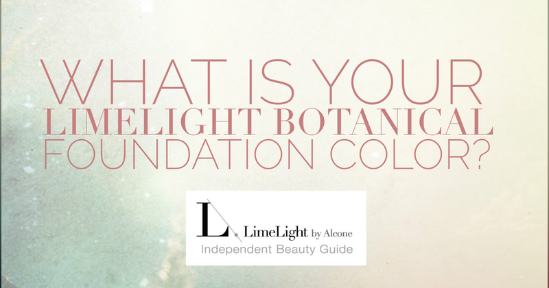 "Check out ""What is your LimeLight Botanical Foundation"