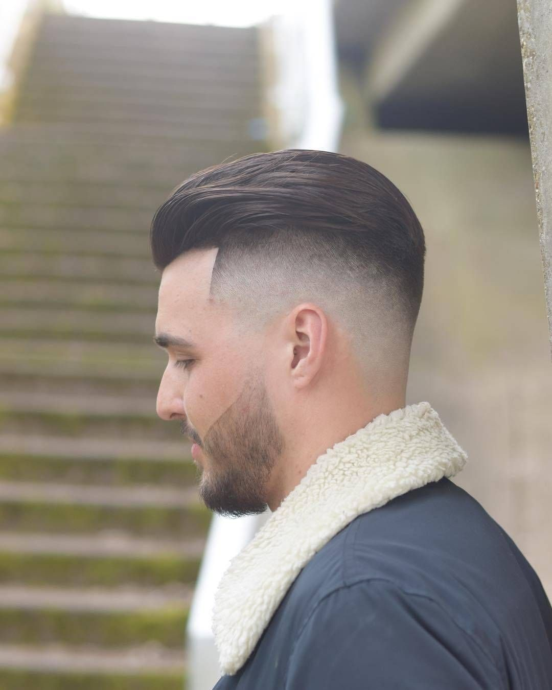 Mens Hairstyles 2017 One Love Barberslick Back Skin Fade