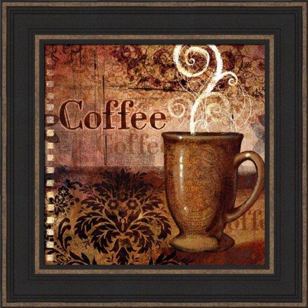 Coffee - Framed Art Print | Solo imagenes bonitas, Amo el café y Café