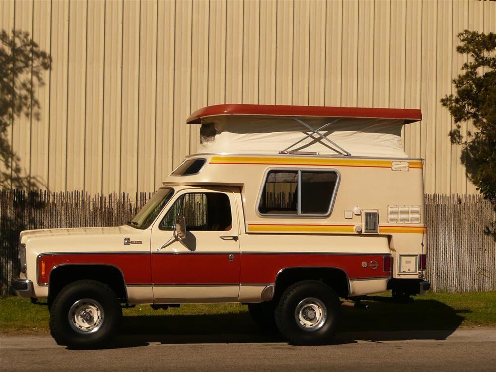 K5 Chalet Pop Top Chevrolet Trucks Chevy Diesel Trucks Chevy