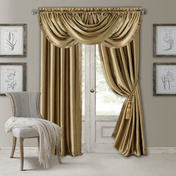 You Ll Love The Versailles Curtain Panels At Wayfair Great Deals