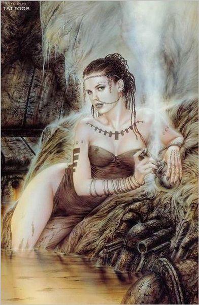 Fantasy Dame Art