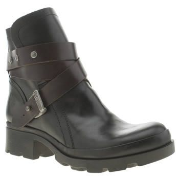 Fly London Boots Womens Black Black Mok With Fast Delivery