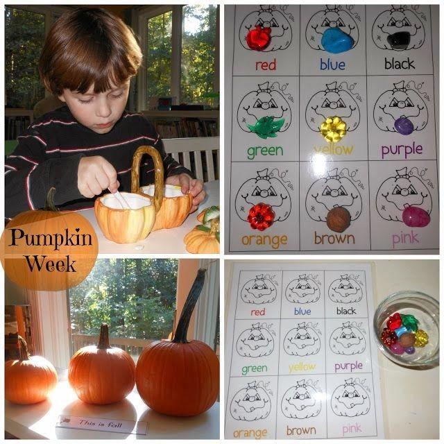 The Montessori on a Budget blog: Montessori Toddler and Preschool Fall Themes
