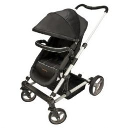 Harmony Odyssey Deluxe Modular Stroller  A stroller with 2 facing options, a 5-point safety harness, padded reclining seat, and easy fold-up mode for transport and storage.Stay up-to-date on the safety and recall info.