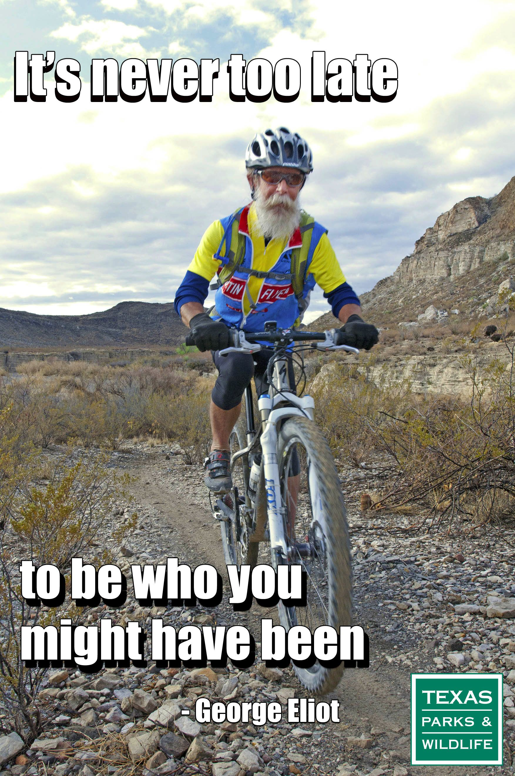 We Were So Inspired By This Cyclist He Was Kind Enough To Let Us