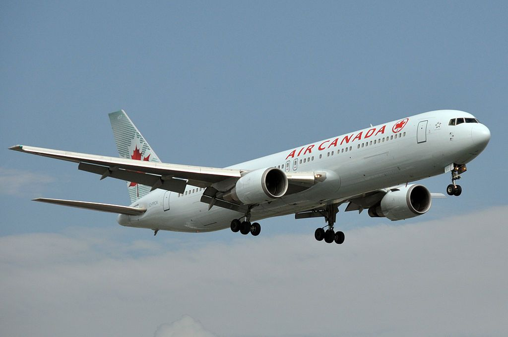 Air Canada Fleet Boeing 767 300er Details And Pictures With