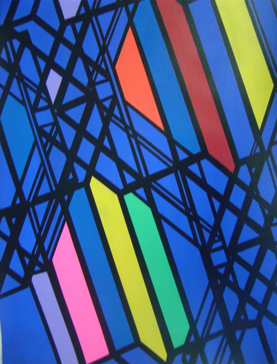 Billund. Acrylic on paper. 70x50 cm. 2013