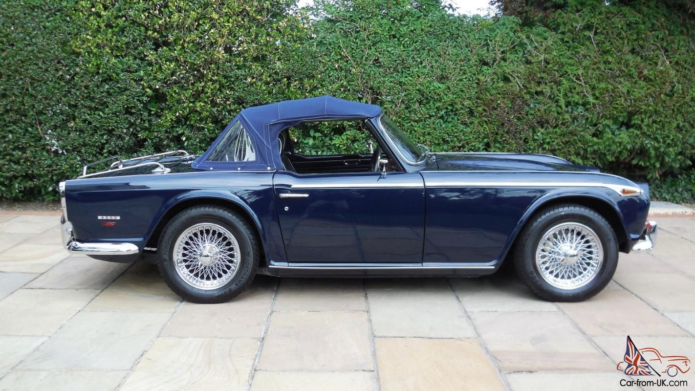 Triumph TR5 PI / 1968 / UK RHD / Overdrive / Fully