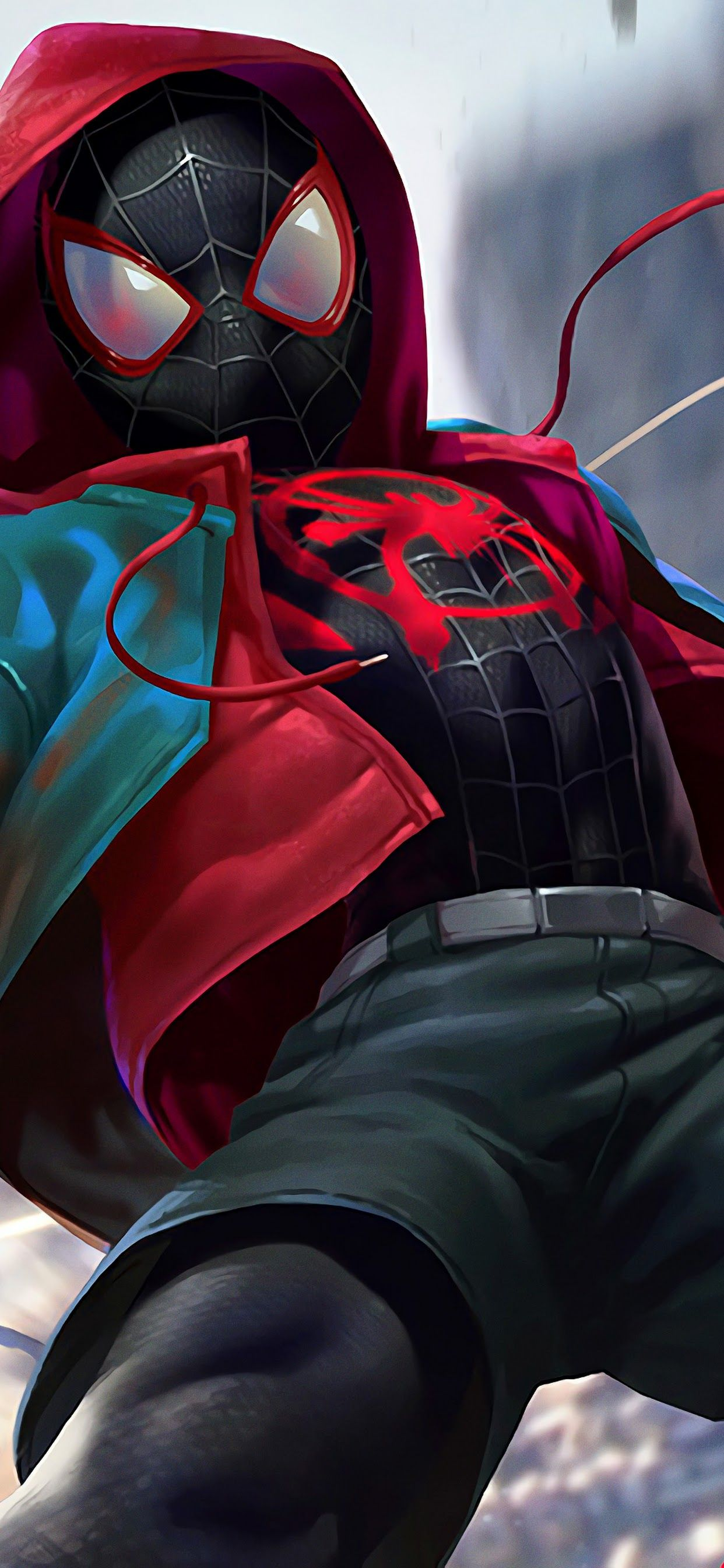 Spider Man Into The Spider Verse Laptop Wallpaper Google Search Marvel Comics Wallpaper Spiderman Marvel Spiderman