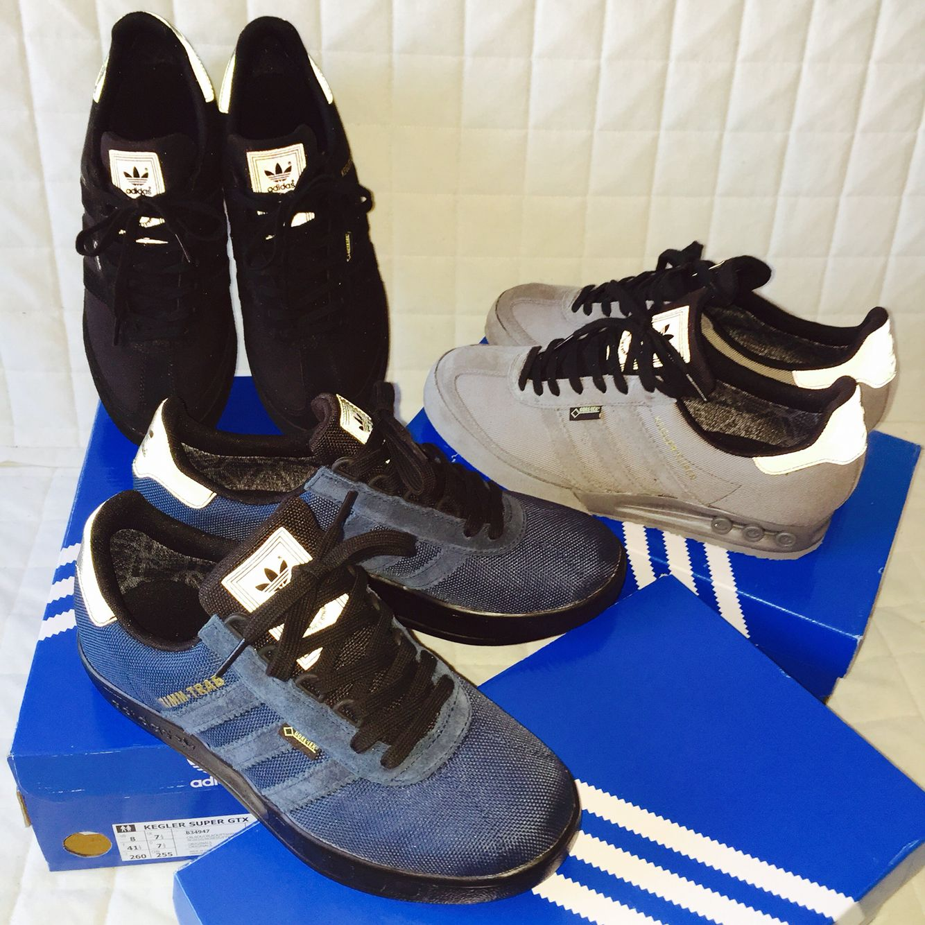 Faringe carrera Scully  Adidas x Size x Gore Tex Kegler Super & Trimm Trab GTX. | Adidas sneakers,  Sneakers, Dc sneaker
