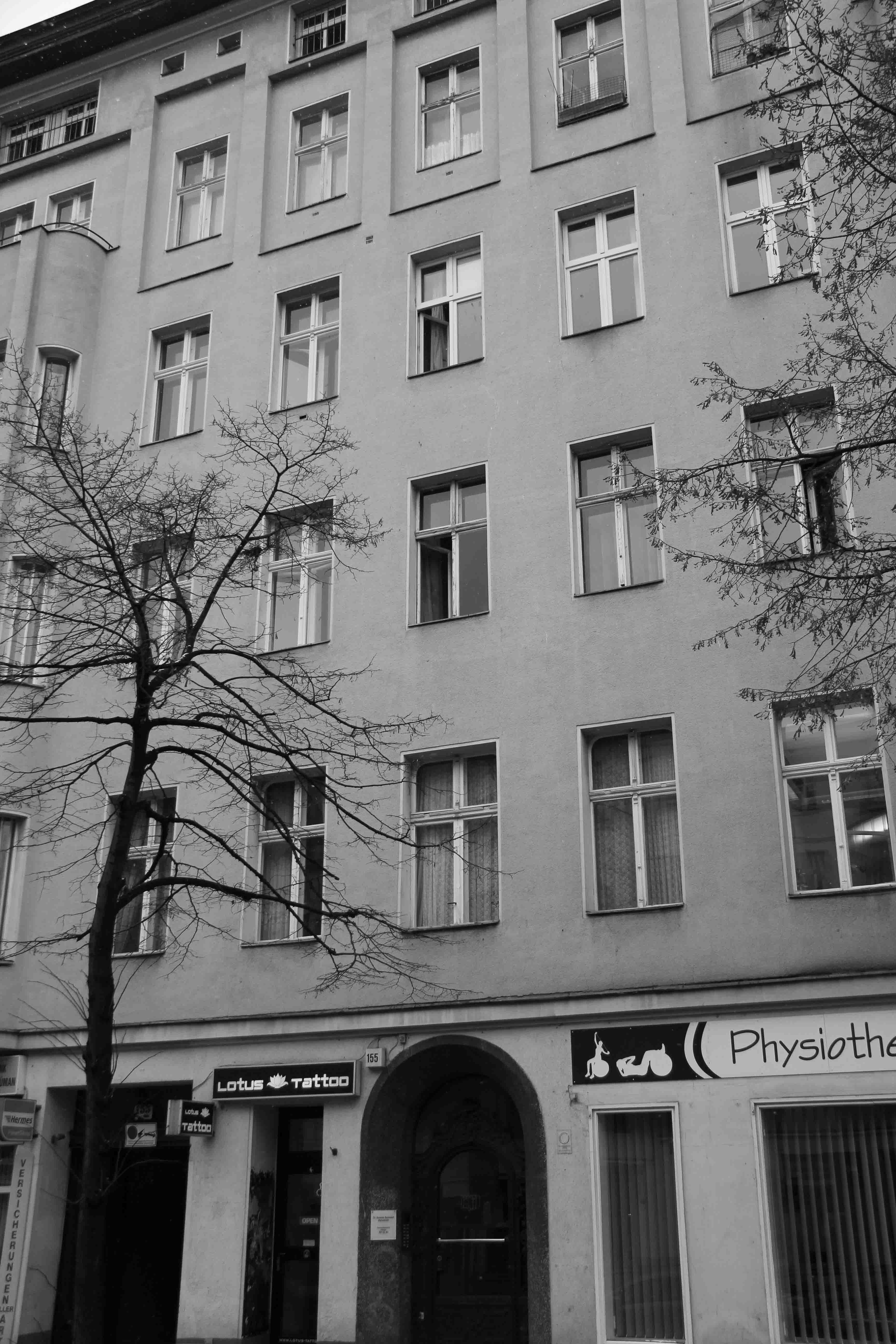 Flat Of David Bowie In Berlin When Moved To 1976 He