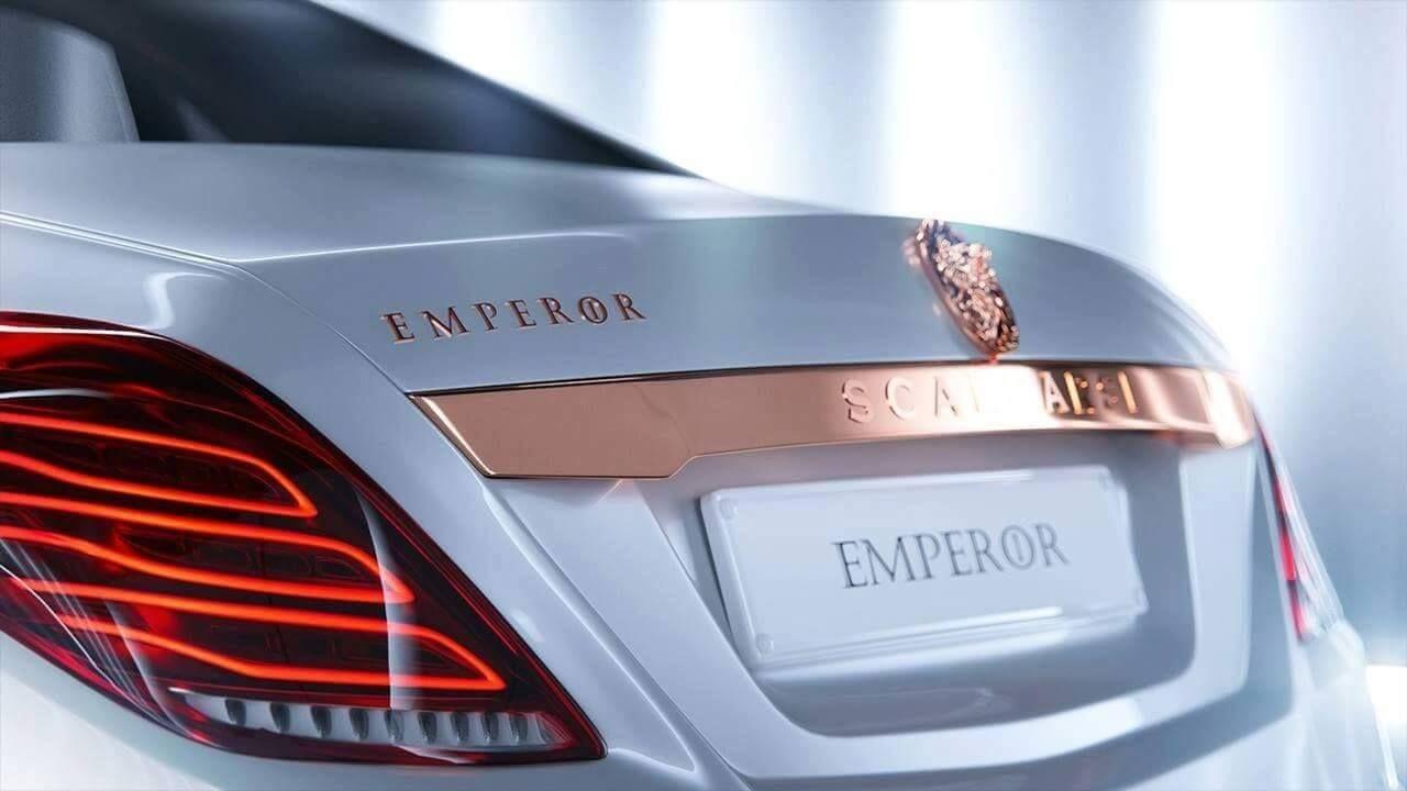 Scaldarsi motors maybach based 1 5 million emperor i is a sight to - Scaldare Emperor Mercedes Maybach S600