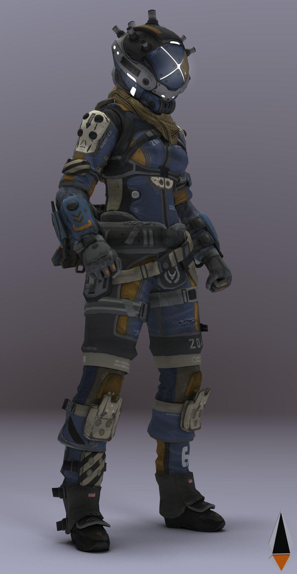 Female Pilot #2 Titanfall 2 by IamFile on DeviantArt ...