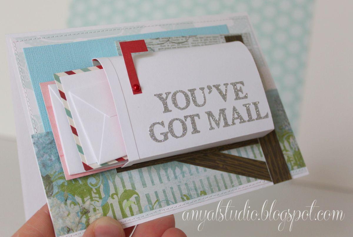 My Creative Corner You Ve Got Mail Card Unique Birthday Cards Birthday Cards Diy Diy Unique Cards