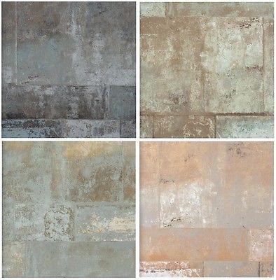 Details Zu Vlies Tapete Stein Muster Mauer Bruchstein Naturstein BN Eye  Metallic Schimmernd