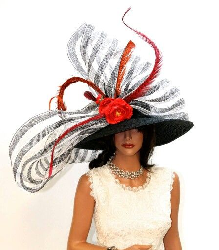 The Craziest And Most Glamorous Hats: Derby Outfits, Derby Hats Diy, Fancy Hats