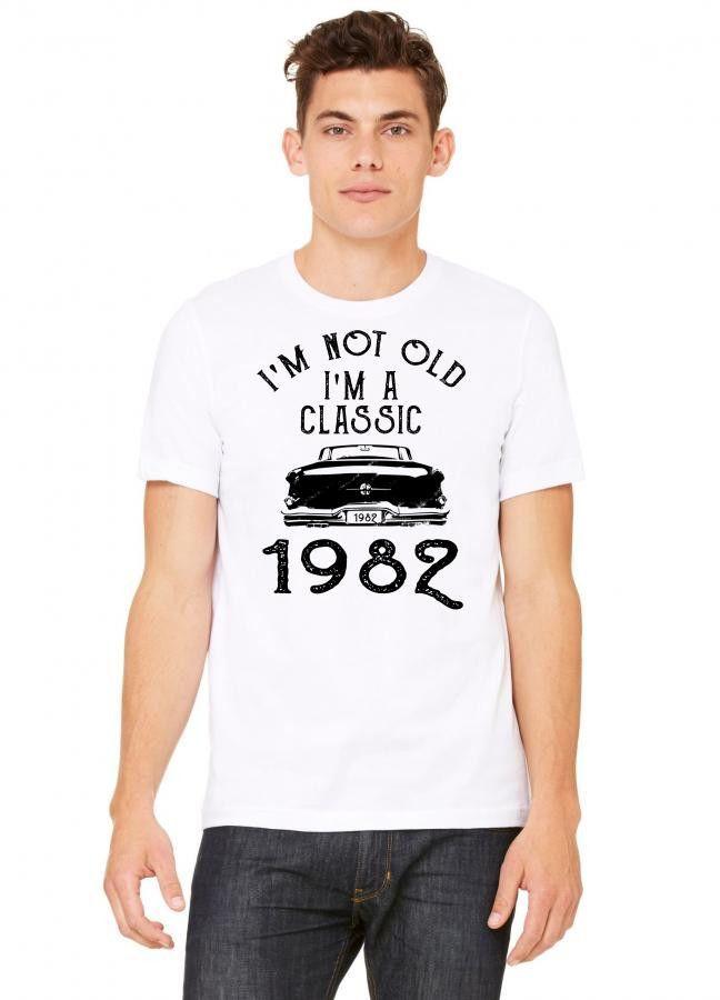 i'm not old i'm a classic 1982 Tshirt