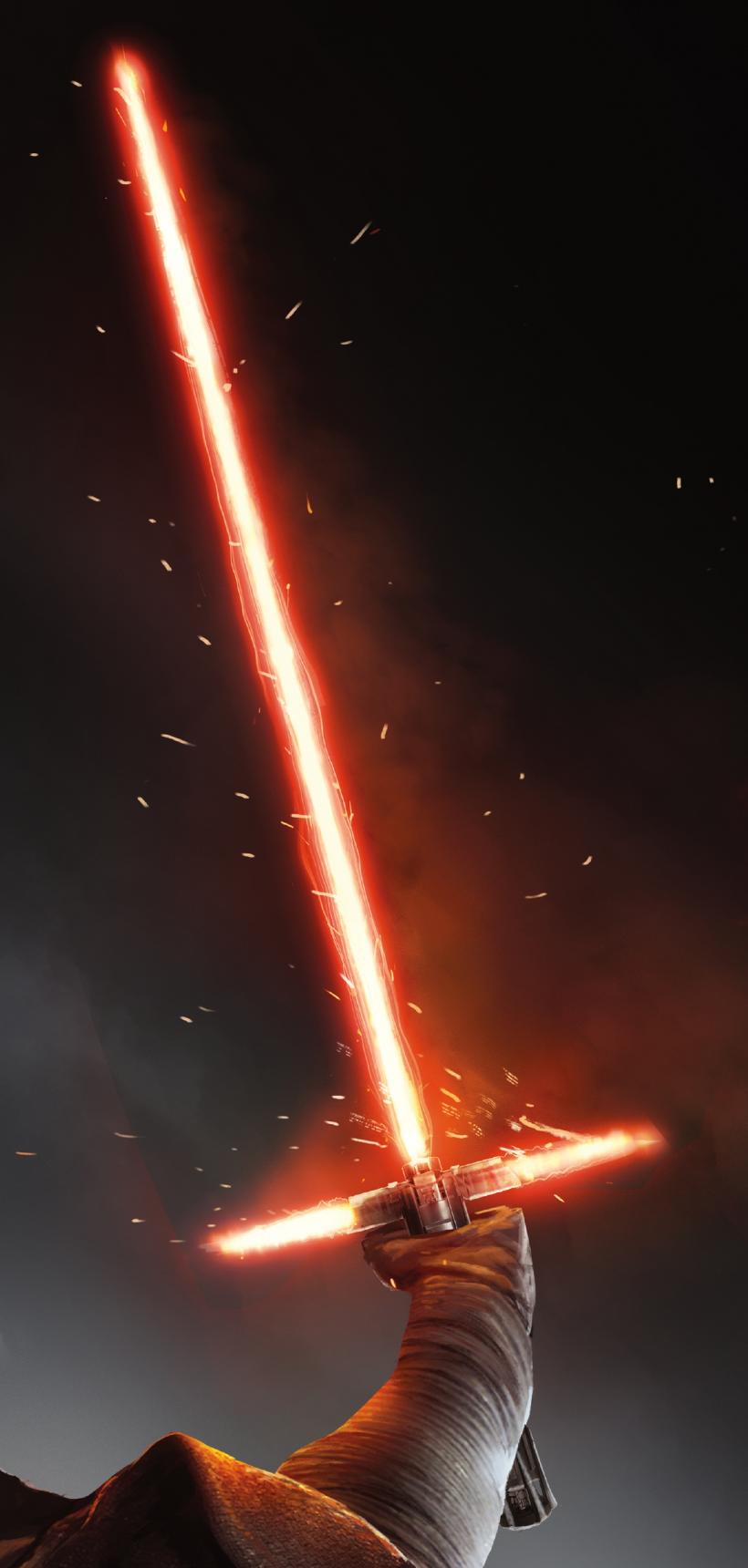 Kylo Ren S Lightsaber Star Wars Geek Star Wars Art Lightsaber Colors