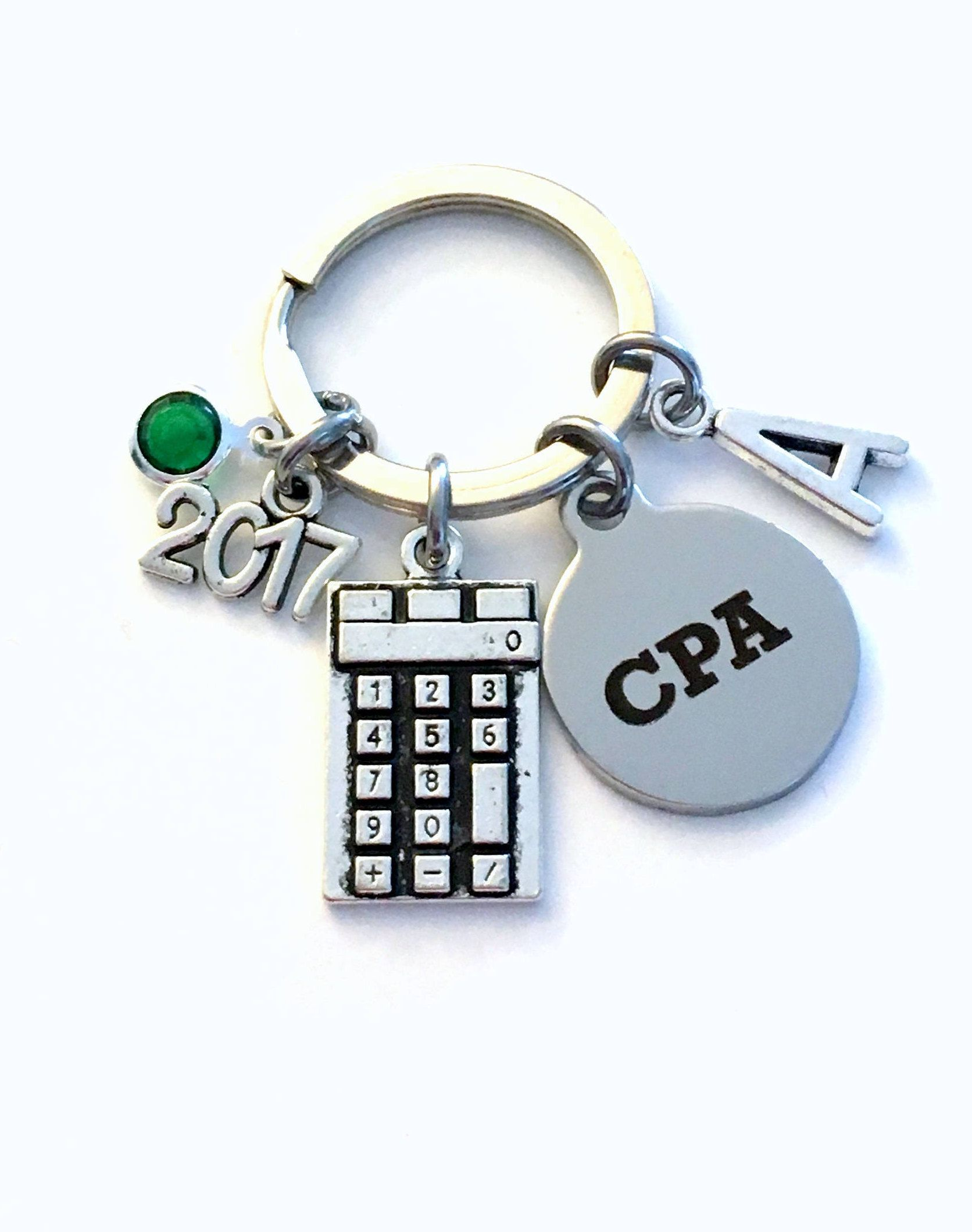 Chartered Accountant Cpa Graduation Gift For Accountant Retirement Cpa Key Chain 2017