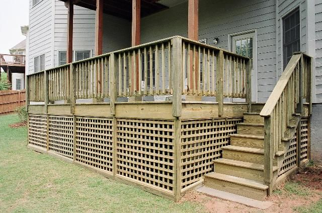 Pin By Jennie Gayle On All Decked Out Deck Skirting Lattice Deck Gazebo Construction