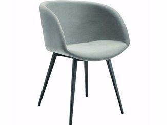 Midj Sedie ~ Upholstered easy chair sonny p restaurant chair midj chair