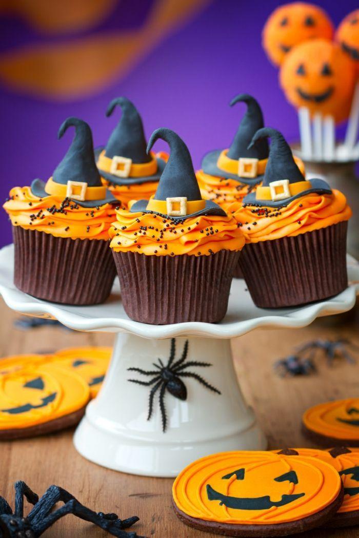 Halloween Gebäck - 2 tolle Muffin-Rezepte für Halloween #halloweenfood