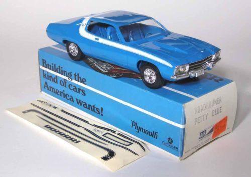1973 Plymouth Road Runner 2 Door Ht Promo Model Model Cars Kits Car Model Car Memorabilia