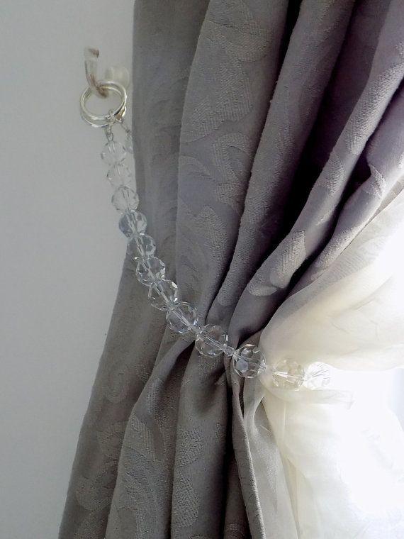 swarovski kristallen gordijn tie terug luxe beaded gordijn kralen gordijnen doe het zelf gordijnen