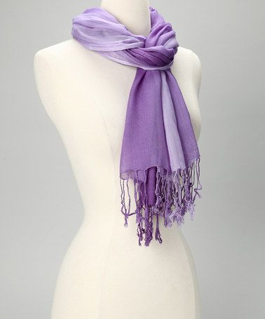 Take a look at this Purple Ombré Scarf