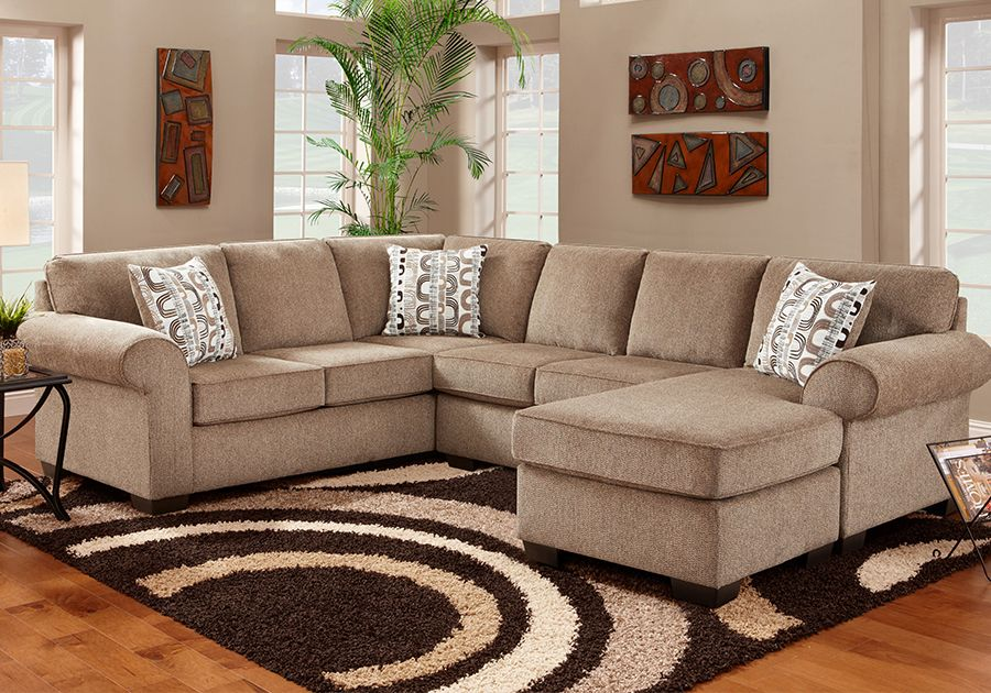 Robert Michael Rocky Mountain Sectional Brown Living Room Decor Living Room Colors Brown Couch Living Room