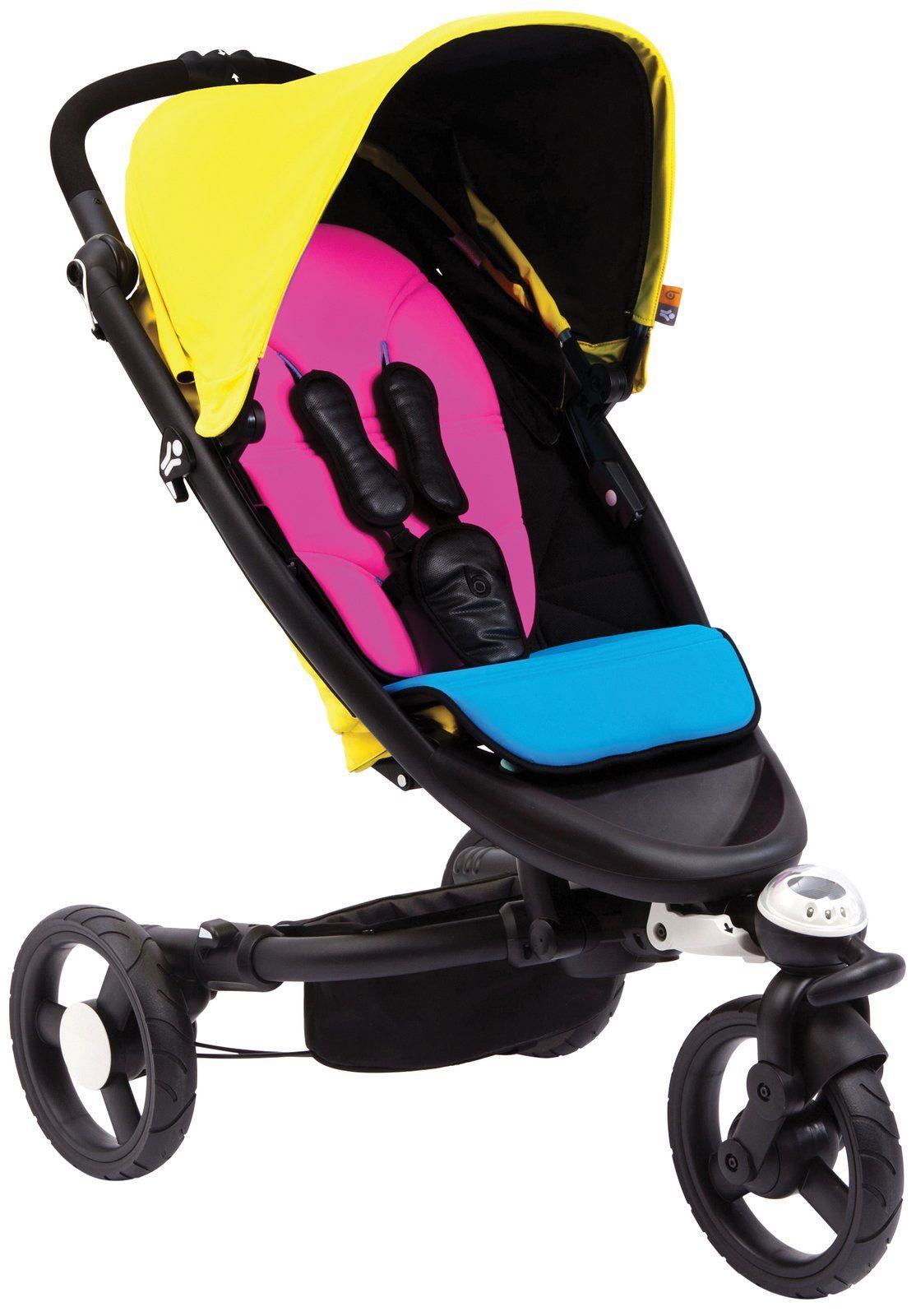 Bloom Zen stroller in CMYK seriously?! This stroller has