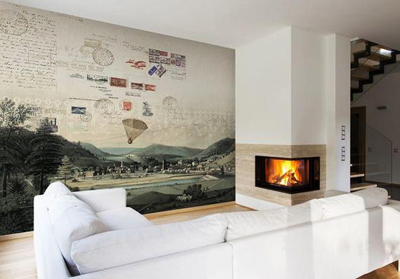 Effektvolle Wand- und Raumgestaltung mit Fototapete Walls