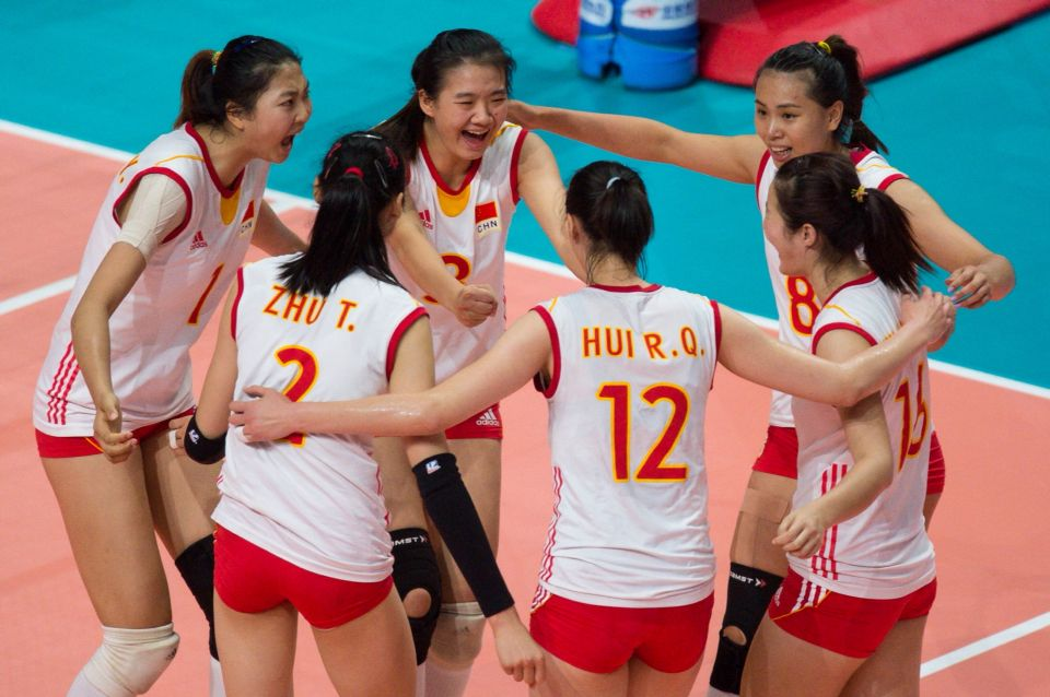 Are The Chinese Going To Celebrate This Year Volleyball Team Celebrities Volleyball