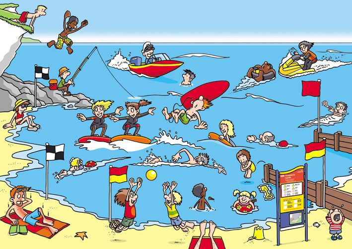 Beach Safety Posters