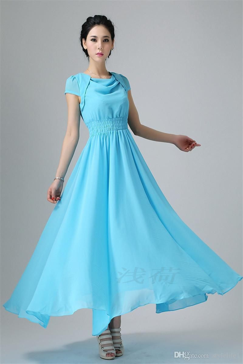 Maxi Dresses for Wedding Party - Dress for Country Wedding Guest ...