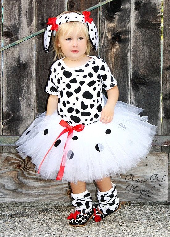 Halloween Costume Ideas For Kids 9 12.Custom Boutique 101 Dalmatian Inspired Tutu Set 3 6 9 12 18